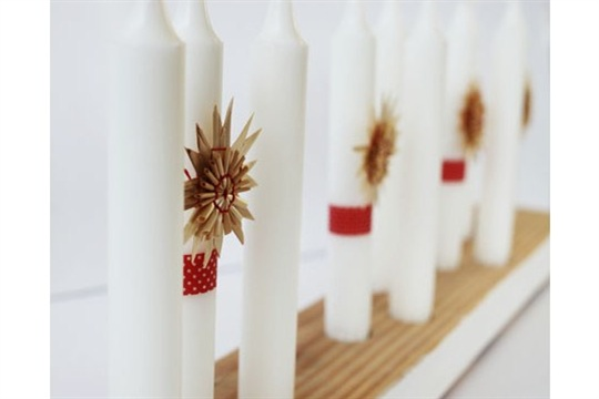Modern (and Versatile!) Advent Candle Holder