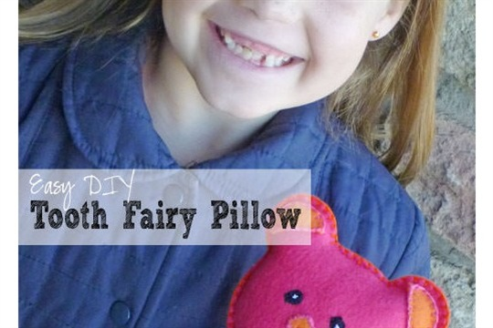 Easy DIY Tooth Fairy Pillow