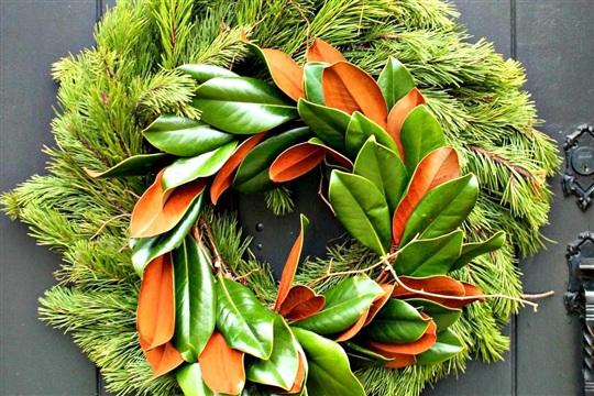 DIY Wreath Double Magnolia
