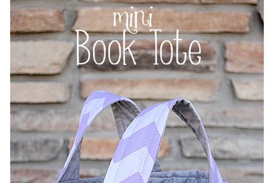 Mini Book Tote Tutorial U Create