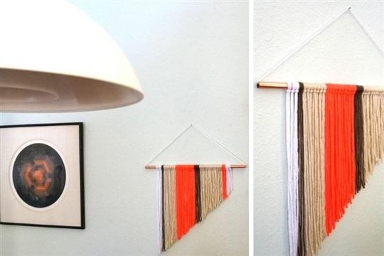 A Modern DIY Wall Hanging