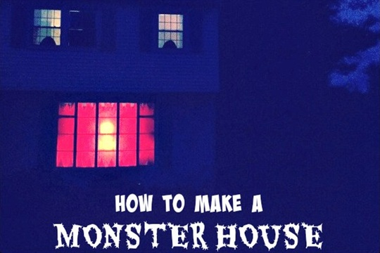 Spooky House Spiders, Monsters, Ghosts, oh my!